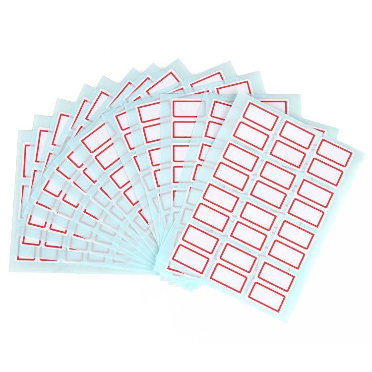 得力7193不干胶标签纸 小标签贴 口取纸 标价贴价格签自粘性贴纸