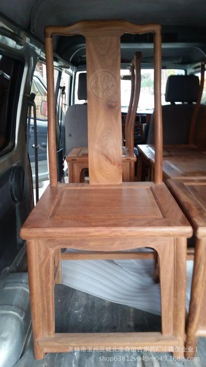 铁力木餐椅