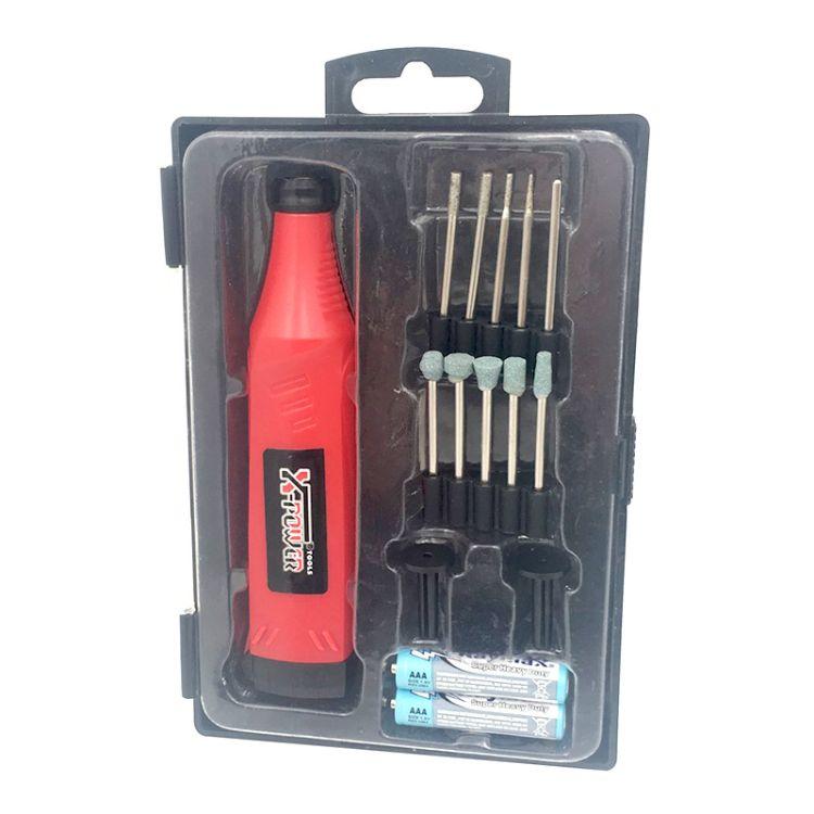厂家直销 电磨 迷你小电磨 电磨机套装 微型雕刻电磨笔组合套装