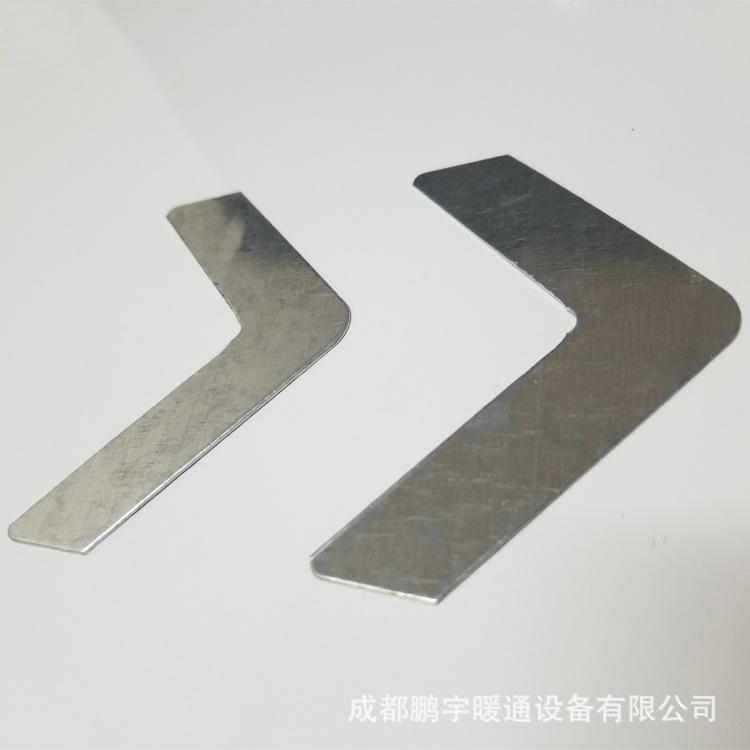 批发酚醛、挤塑复合风管用镀锌加强角配件 直角加固铁角码
