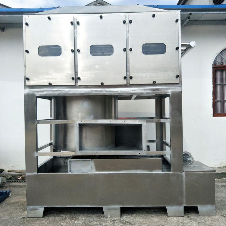 喷漆粉尘收集湿式除尘成套设备 工业粉尘成套设备 佛山东能环保专业资质直供