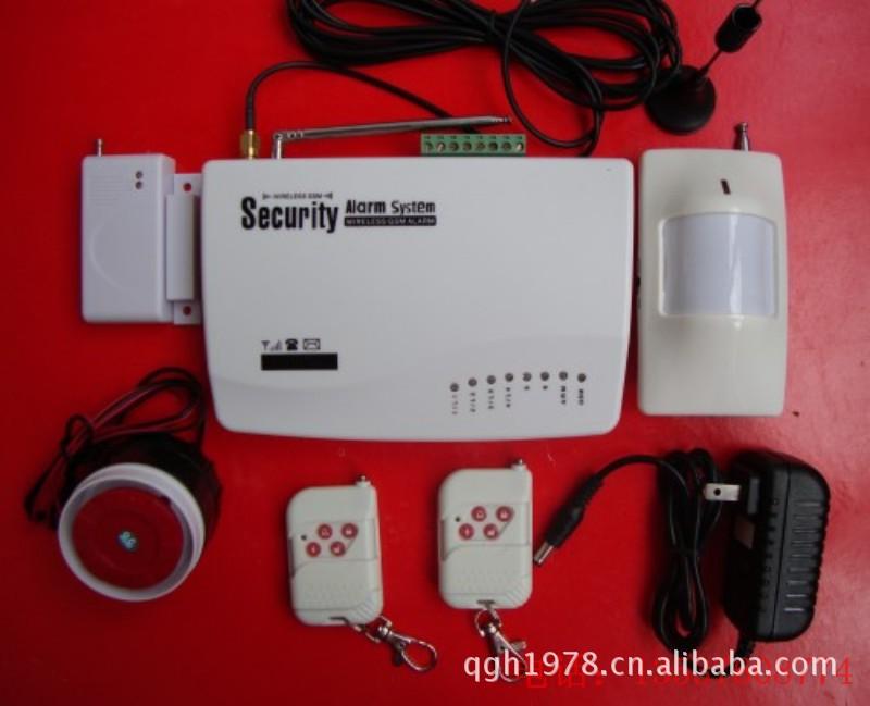 Security GSM Alarm System GSM防盗报警器 语音+停电报警英文版