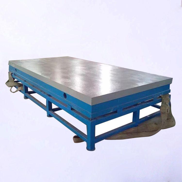 新航厂家直销 带支架模具装配焊接工作台 铸铁钳工修模配模焊接工作台平板支架