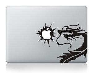 苹果电脑专用个性趣味贴纸