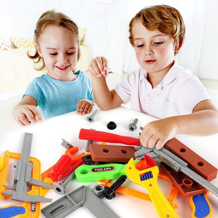 儿童益智过家家工具箱套装维修理工具男孩玩具厂家直销19件套包邮