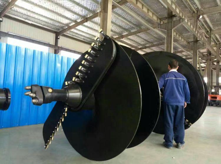 厂价直销多用途装螺旋钻机可挖树坑螺旋钻可打光伏孔