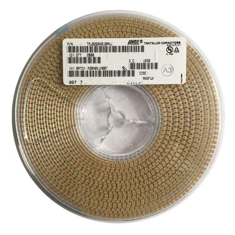 正品22UF 10V 3528 B型 K档AVX贴片钽电容原装代理