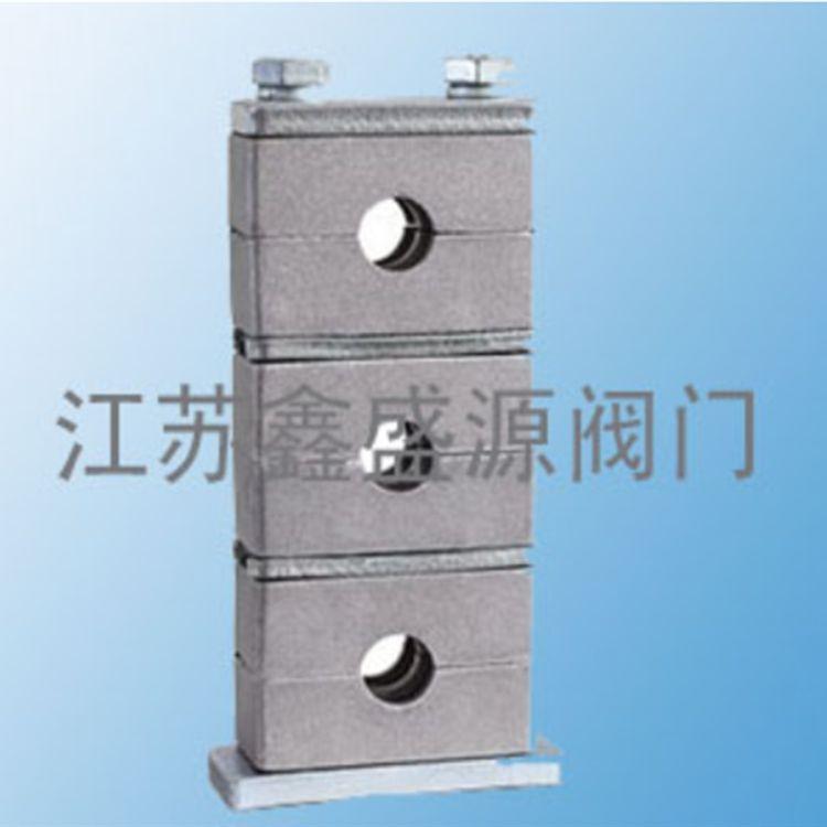 现货供应重型管夹 轻型管夹塑料管夹铝合金管夹钢制管夹批发厂家鑫盛源