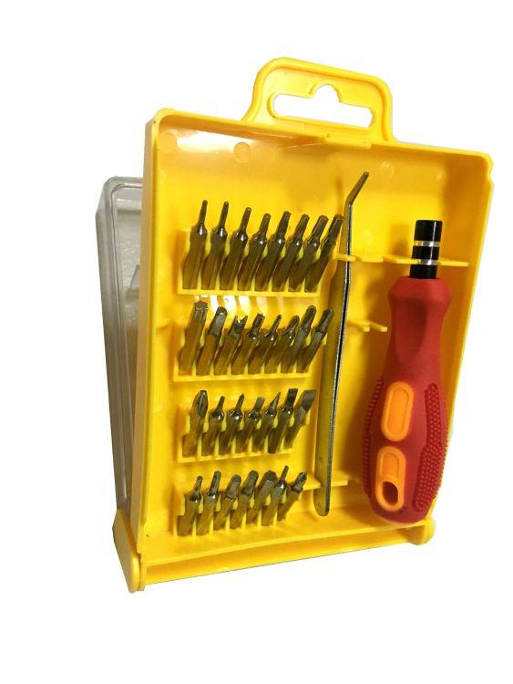螺丝刀套装 厂家供应多功能32PCS手机维修工具螺丝刀套装