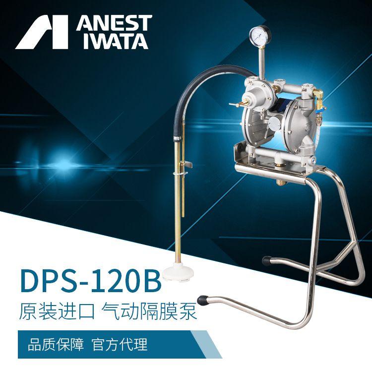 ANEST IWATA/阿耐思特日本岩田气动双隔膜泵 DPS-120B原装喷漆泵 排液泵 气动隔膜泵